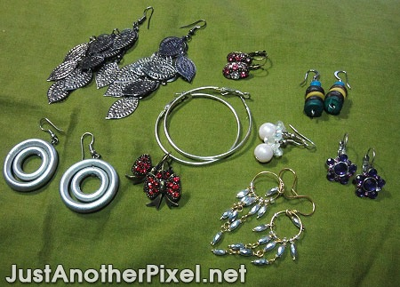 My favorite earrings collection - JustAnotherPixel.net