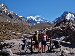 Aconcagua mountain.