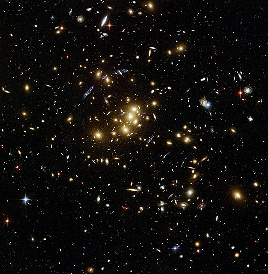 Hubbles Dark Matter Map  NASA
