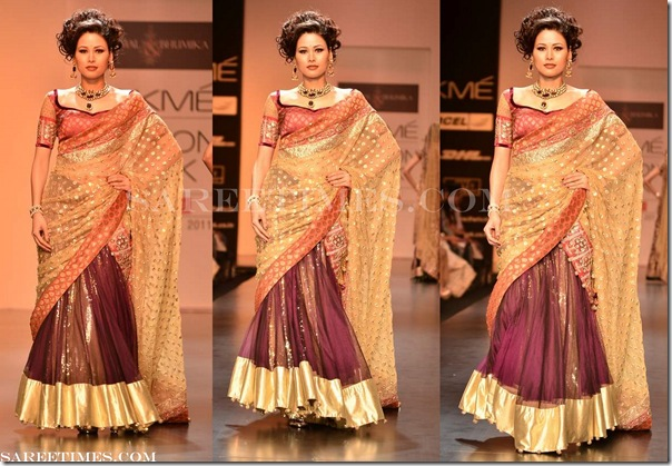 Shyamal_Bhumika_Gold_Purple_Saree