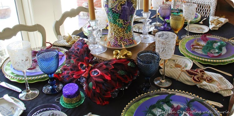 MARDI GRAS TABLE 14