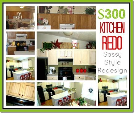 300 kitchen redo sassy style redesign