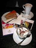 Dobos cake in Viena