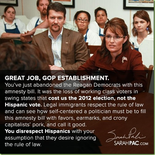 palin on gop