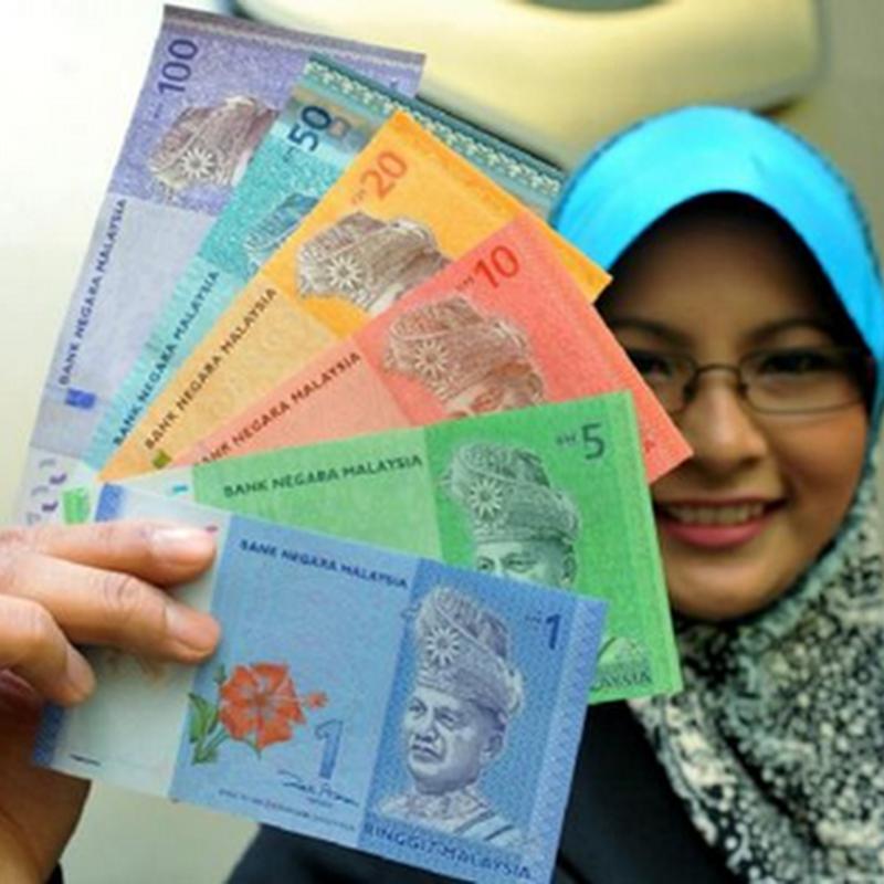 Gambar  wang kertas  Malaysia dan duit syiling Malaysia siri ke-3