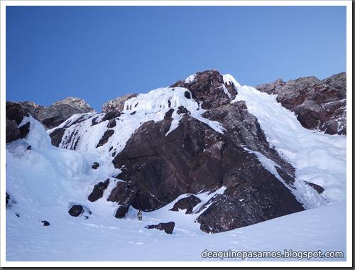 Cascada Os Diaples de Panti 180m MD- WI4  90º (Canal Roya, Pirineos) (Isra) 8507