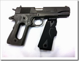 Springfield 1911 CT Grips to be installed (Small)