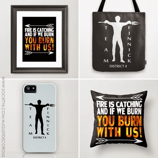 Shop Update: Catching Fire Merch | allonsykimberly.com