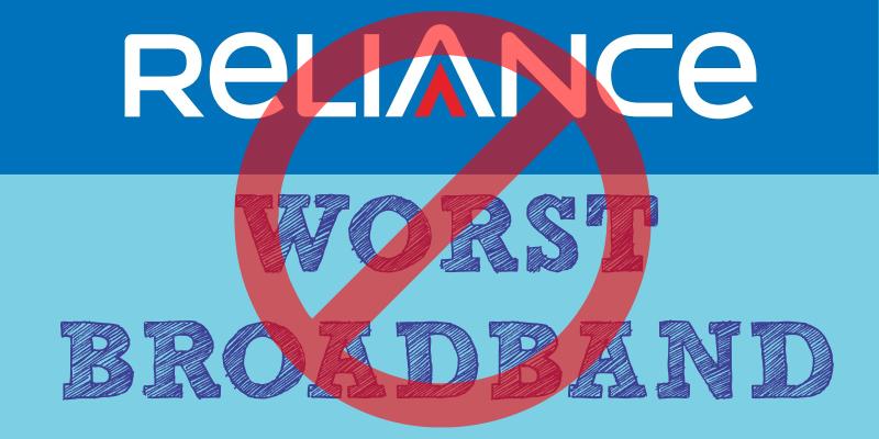 reliance asshole broadband
