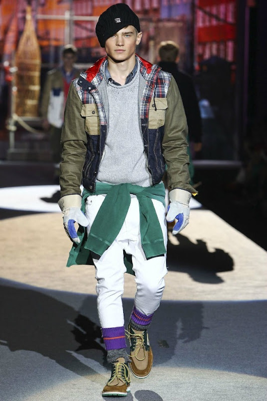 Milan Fashion Week Primavera 2012 - Dsquared² (35)