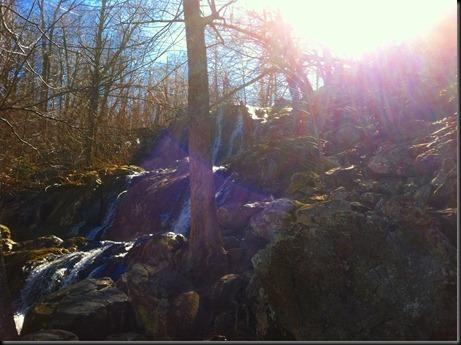waterfall-flare