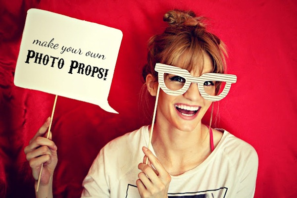 make your own photo props