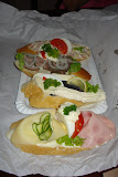 Lahudky - Czech open face sandwiches