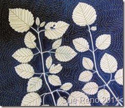 Vole and Viburnum, by Sue Reno, work in progress image 8