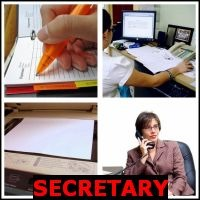 SECRETARY- Whats The Word Answers