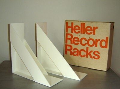 Heller Record (LP) Racks by Giotto Stoppino for Heller with box
