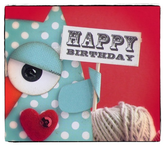 Anna Drai - owl - birthday boy - anteprima