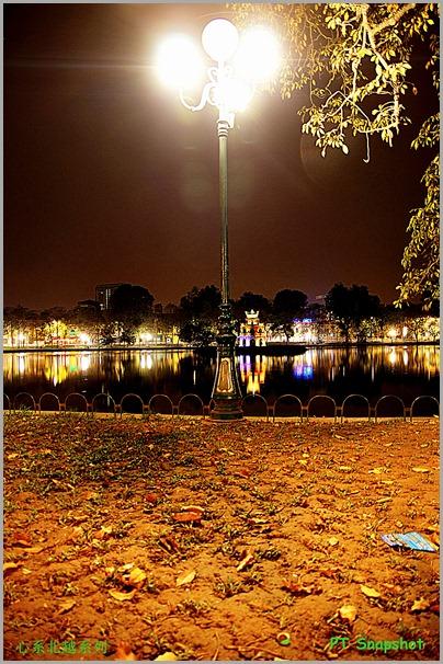 龟塔与灯柱