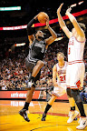 lebron james nba 120129 mia vs chi 07 King James Unveils New Shoe   Black/Red/White LEBRON 9
