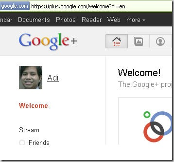 google-plus-welcome