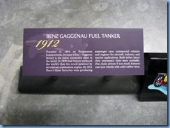 0919 Alberta Calgary - Heritage Park Historical Village - Gasoline Alley Museum - 1912 Benz Gaggenau Fuel Tanker