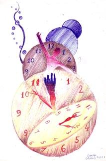 O alegorie a timpului - desen de la 14 ani