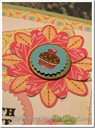 DIY Card - With Love-close up