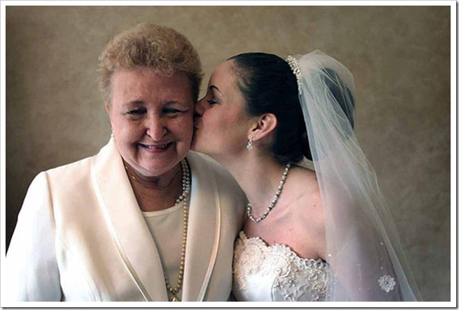 mãe casamento noiva