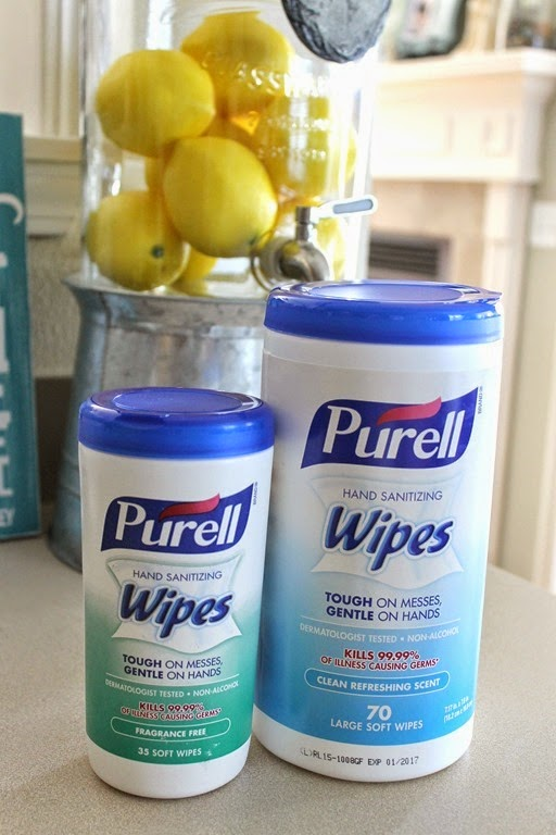 purell wipes tough on messes gentle on hands