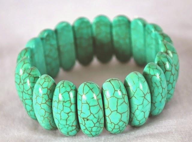 Bracelets of Turquoise Stone