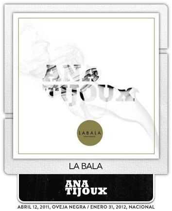 La Bala por Ana Tijoux