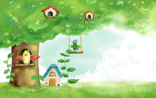 Cute Free Spring Desktop Wallpaper