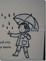 charliecamp lean on me stampin up close up