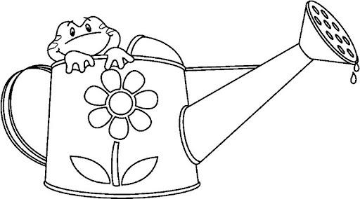 Imagen de regadera para colorear - Imagui