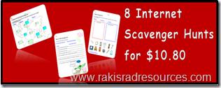8 Internet Scavenger Hunts for $10.80