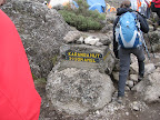 Karanga - if you're doing a 6 day you skip this one. Camp for night 4 Machame Route.