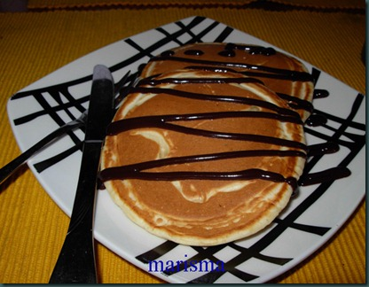 tortitas con chocolate,racion1 copia