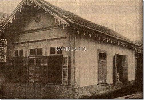 Casa do Noel Rosa, Rua Teodoro da Silva, VIla Isabel - Anos 30