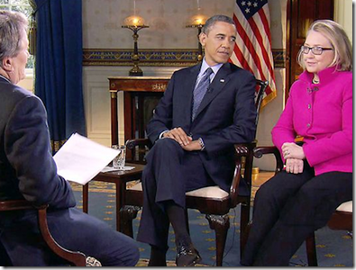 CBS Kroft 60 Minute BHO and Hillary Interview