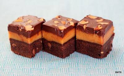Peanut Butter Billionaire Brownie by Baking Makes Things Better (4)