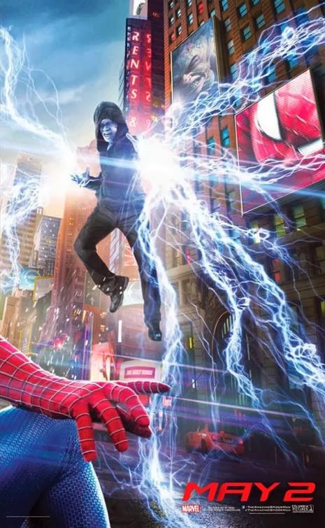 A csodálatos pókember 2 bannerje poszterekre szedve 03