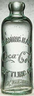 Coca Cola bottiglia Ottocento grande