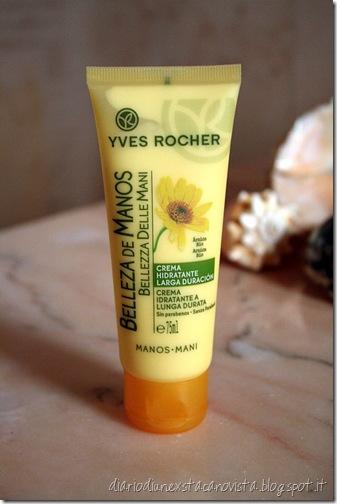 Yves Rocher crema idratante mani