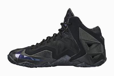 nike lebron 11 gr triple black 5 03 Release Reminder: Nike LeBron XI Blackout (616175 090)