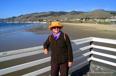 On Pismo Beach Pier