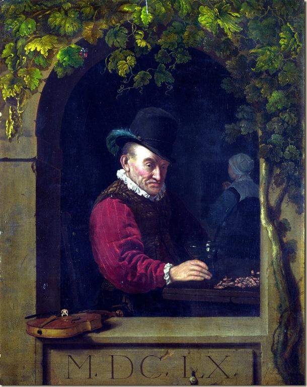 Frans van Mieris, Homme au verre de vin