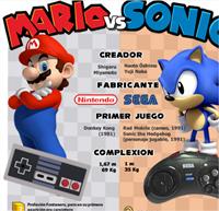 [Infografía] Mario vs Sonic