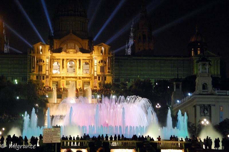 montjuic luz y sonido - barcelona