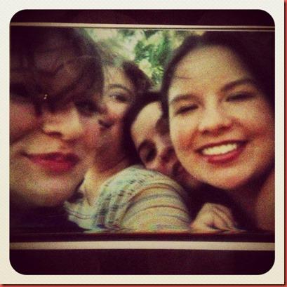 Ash, Erika, Pam, & me 1999