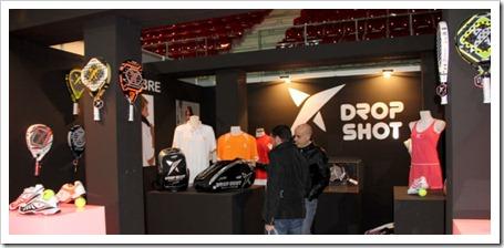 Drop Shot presenta su nueva colección de invierno, palas, textil y accesorios en el Máster Estrella Damm 2012 de la Caja Mágica.
